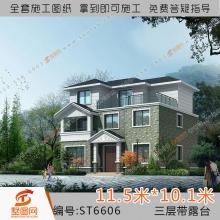 墅图私人自建房设计图新农村住宅设计图私家别墅施工图自建别墅设计