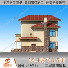 销量TOP3:墅图两层别墅图纸小别墅设计图两层复式别墅设计农村2层房屋设计图